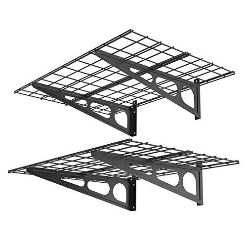 FLEXIMOUNTS 2' x 4' Black 2-Pack 2x4ft