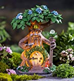Wind & Weather Solar Lighted Fairy House in a Tree