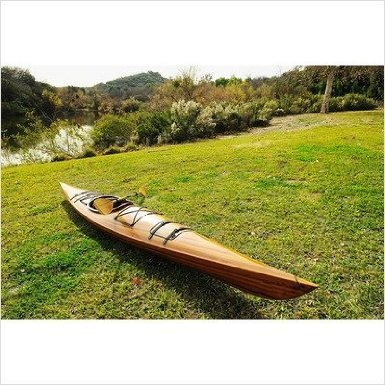 One Person Real Kayak 17 Canoe