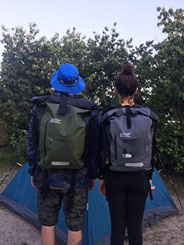 1c383776f8f COR Waterproof Dry Bag Roll-Top Backpack with Padded Laptop Sleeve ...