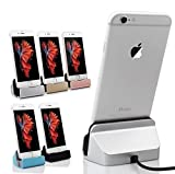 Desk Charger / Desk Stand / Dock Station Compatible With Apple iPhone 6S/6 Plus/SE/5S/5 & iPhone 7 , iPad | Multicolor