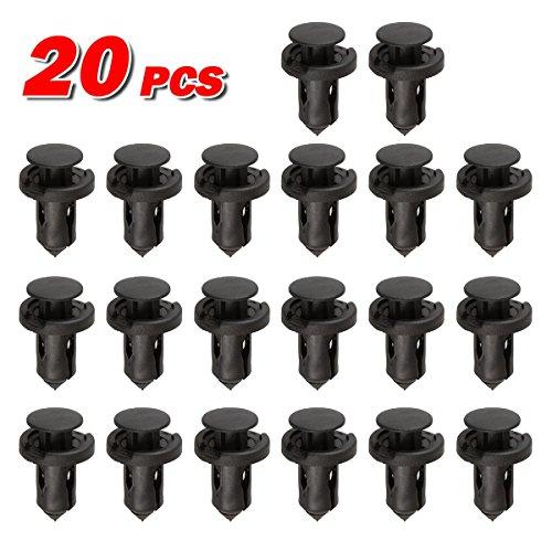 PartsSquare 20pcs Fender Liner Fastener Rivet Push Clips Retainer Mazda RX-8 Protege 5 Protege MPV Millenia Miata Speed6 6 5 3 2 CX-9 CX-7 CX-5