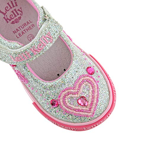 Lelli Silver Ava GH01 Glitter Baby UK Kelly Shoes 5 LK3010 21 Dolly BtrXwABq