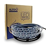 ALITOVE 16.4ft WS2812B Individually Addressable LED Strip Light 5050 RGB SMD 150 Pixels Dream Color Waterproof IP66 Black PCB 5V DC from ALITOVE