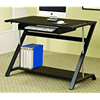 Coaster Home Furnishings Contemporary Computer Desk, Black