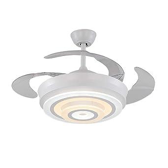 Ventilador de techo invisible de 42 pulgadas Ventilador LED ...