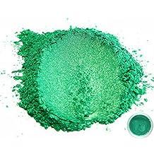 "50 gr ""Rainbow Green"" Mica Powder Pigments (Resin, Paint, Epoxy, Soaps, Nail Polish, Liquid Wraps)"