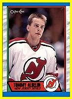 1989-90 O-Pee-Chee #241 Tommy Albelin NEW JERSEY DEVILS