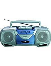 COBY CXC-450 Portable Cassette Player/Recorder with AM/FM Radio