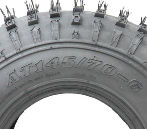 Parnells 2-145//70-6 Juego de neum/áticos y c/ámaras de Cuatro Ruedas 50cc 90cc 110cc 75 kgs Neum/ático Wanda P319 Quad