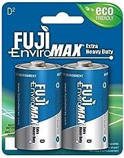 Enviromax D Extra Heavy-Duty Batteries, 2 Pk