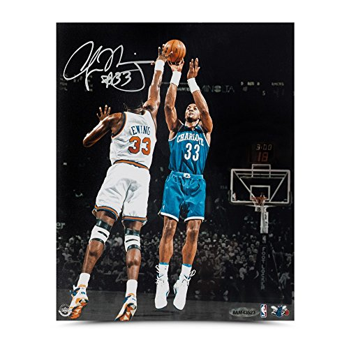 - ALONZO MOURNING Autographed