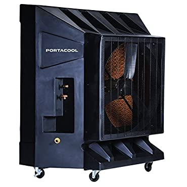 10100 CFM Variable Speed Portable Evaporative Cooler for 2650 sq. ft. (PAC2K36HPVS)