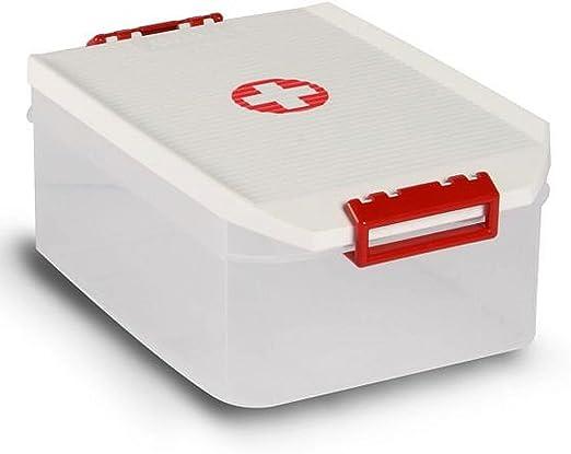 Sanixa TA1150209 - Caja para medicamentos, caja de almacenamiento ...