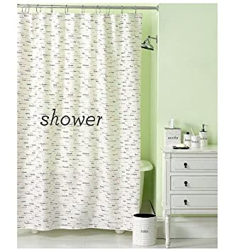 Nice Martha Stewart Shower Curtain  Wordplay