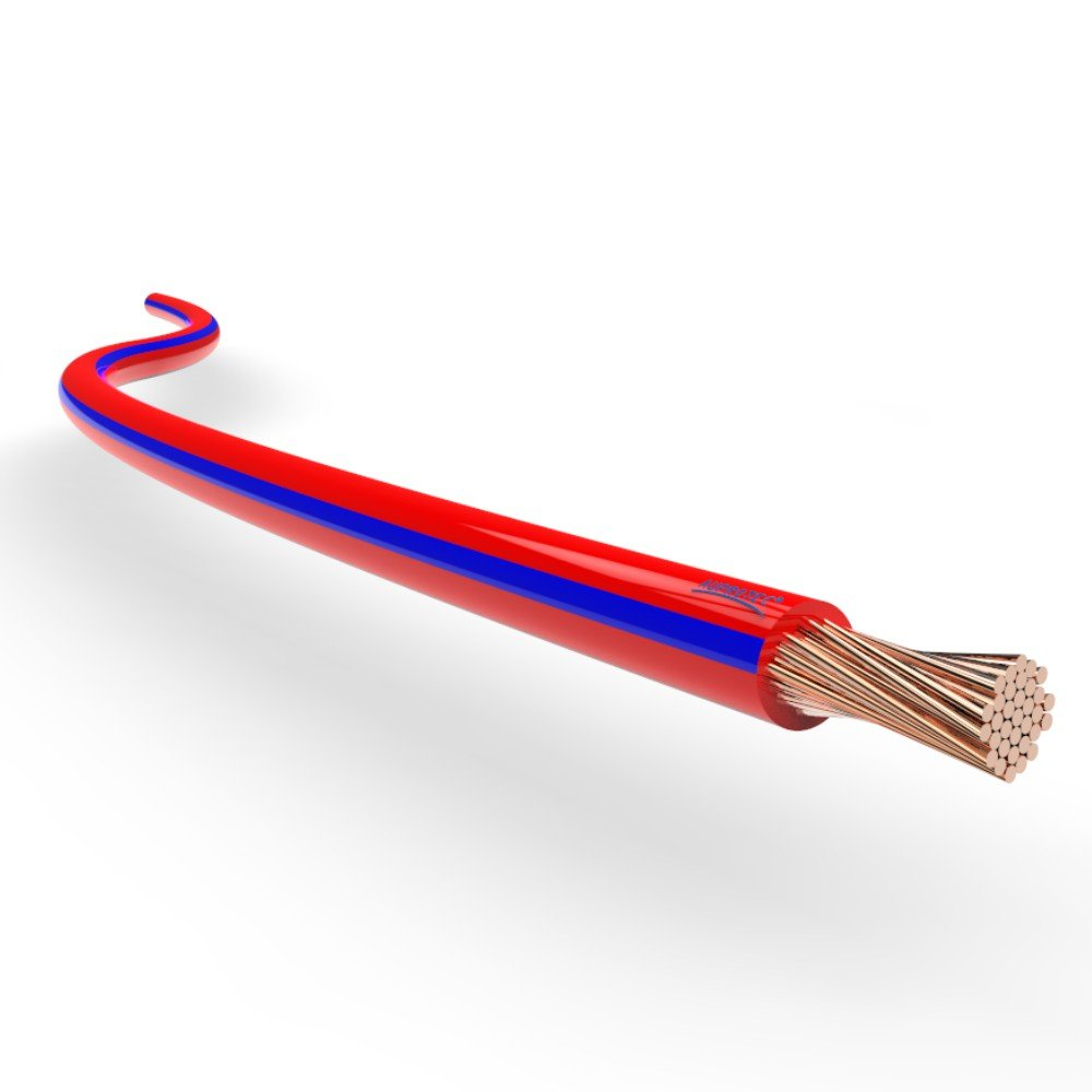 5m 1,0 mm/² grau-rot AUPROTEC/® Fahrzeugleitung 0,75mm/² 1mm/² 1,5mm/² L/ängen 5m oder 10m