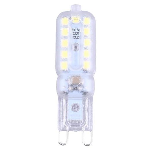 Mini G9 Led Lamp Light 3W//5W G9 Led Bulb SMD2835 LED G9 Spotlight Lamp SL#/&