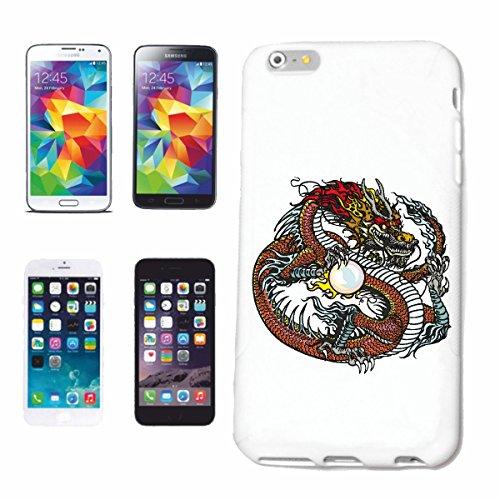 """cas de téléphone iPhone 6S """"DRAGON DRAGON FIRE DRAGON CHINA Lifestyle Mode STREETWEAR HIPHOP SALSA LEGENDARY"""" Hard Case Cover Téléphone Covers Smart Cover pour Apple iPhone en blanc"""