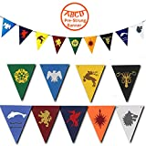 Game of Thrones Banner for Various of GOT Party Supplies Decorations, 1 Pack