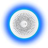 Halo+ Smart Smoke & Carbon Monoxide CO Alarm with Battery Backup, Hardwired - Works with Alexa (Halo+)