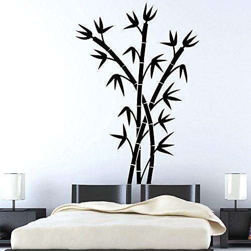 Los brotes de bambú - - religioso fácil de despegar y de palillo de la pared de vinilo pegatinas Decal - elige color