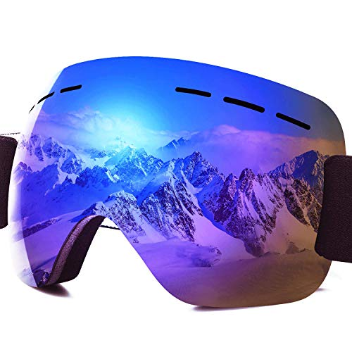 masque ski adulte anti brouillard