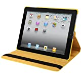Natico Faux Leather Case for iPad 2/3/4 - Yellow (60-I360-YW)
