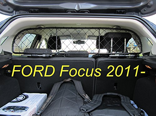Dog Guard, Pet Barrier Net and Screen RDA65-XS8 for FORD Focus Hatchback 5 door, car model produced since 2011, for Luggage and Pets Review