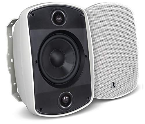 "Russound Acclaim 5 Series 6-1/2"" Indoor/Outdoor Speaker (Each) White 5b65s White"