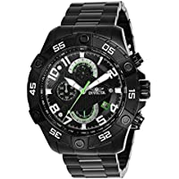 Invicta S1 Rally Chronograph Black Dial Mens Watch