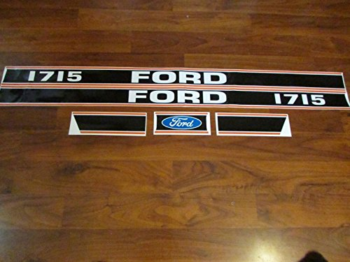 Ford Tractor 1715 Decal Set (Set Decal Tractor)