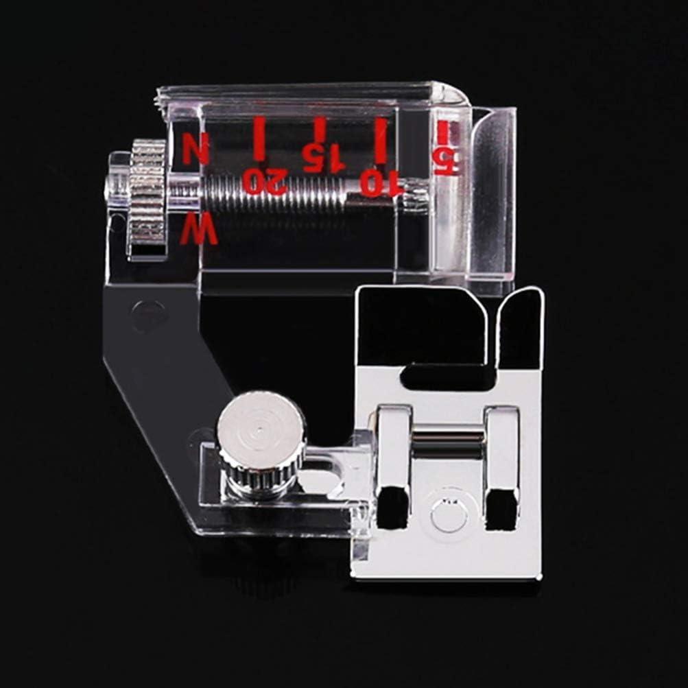 Healifty piedino per cucire piedino per macchina da cucire piedino piedino per orlo set piedino per macchina da cucire piedino 2 pz