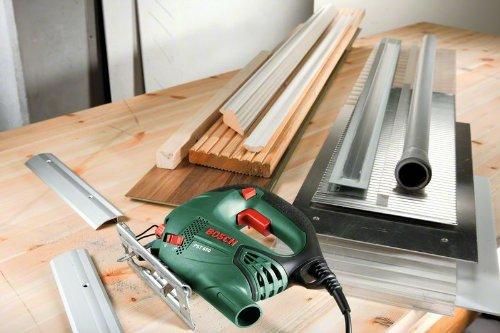Bosch Stichsäge PST 650 (500 Watt, Schnitttiefe in Stahl/Holz 4mm/65mm, im Koffer) 5