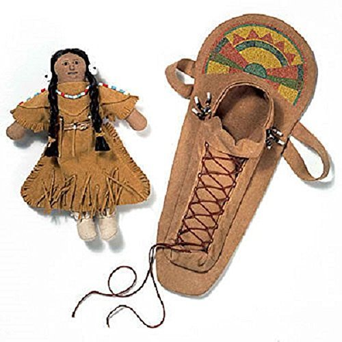 American Girl Kaya Doll Accessories - Kaya's Doll & Cradlebo