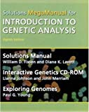 img - for Introduction to Genetic Analysis Solutions MegaManual & Interactive Genetics CD-ROM book / textbook / text book