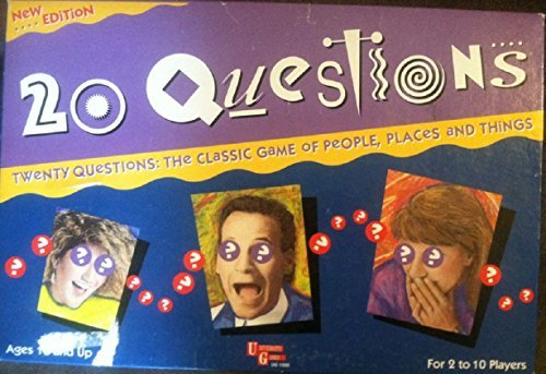 20 QUESTIONS BOARD GAME BY UNIVERSITY GAMES by UNIVERSITY GAMES