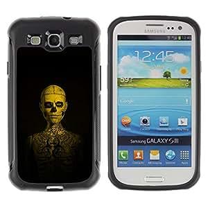 Suave TPU GEL Carcasa Funda Silicona Blando Estuche Caso de protección (para) Samsung Galaxy S3 III I9300 / CECELL Phone case / / Skull Tattoo Skeleton Human /
