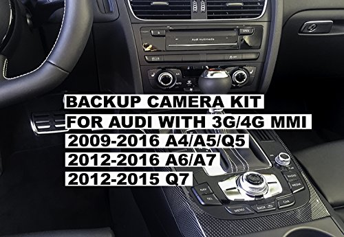 Backup Camera Interface Kit for Audi by CarsGadget.com, OEM Replica, Plug&Play, No Coding.