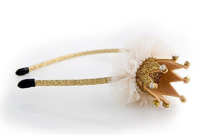 Amazon.com  Glitterfit Girls Princess Crown Headband 8b1004fa30f