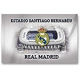 El Real Madrid FC de fútbol desde 1902 bandera la azul