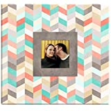 "MCS 860113 Chevron Pattern Scrapbook Album with 12""x12"" Top Load Pages"