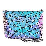 Geometric Luminous Purses and Handbags for Women