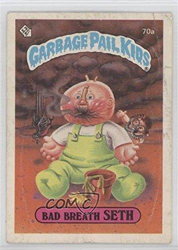 Bad Breath Seth (Trading Card) 1985 Topps Garbage Pail Kids Series 2 - [Base] #70a ()