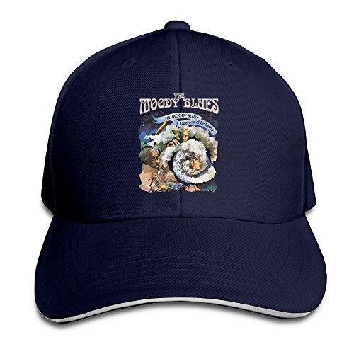 Bill Balance (UrsulaA Adult The Moody Blues A Question Of Balance Sandwich Bill Baseball Snapback Navy)