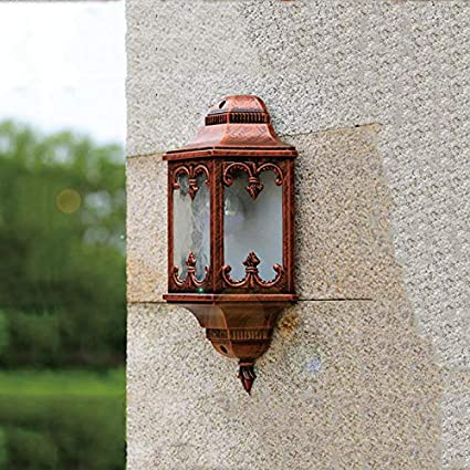 Amazon Com Dhmart Novelty Outdoor Wall Sconce Fence Front Door