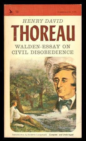 walden and civil disobedience Walden and civil disobedience (collins classics) by henry david thoreau the broadest selection of online bookstores the links will take you to the web site's home page.