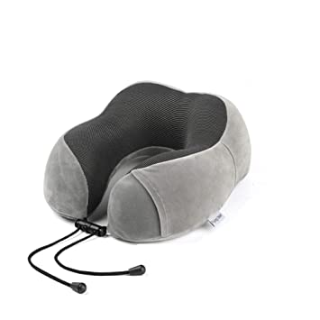 Cuscino Da Viaggio Fai Da Te.Cuscino Da Viaggio Memory Foam Power Of Nature Cuscino Collo