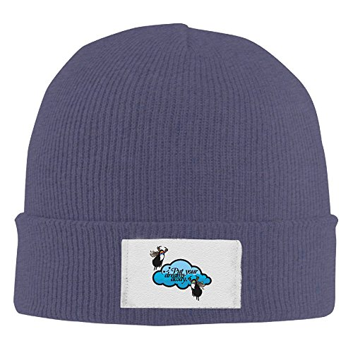 Cartoon Funny Death Angel Men Women Beanie Hat, Skull Cap ( 4 Colors ) - Knit Berkeley Helmet