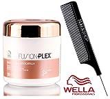 Wella FUSION PLEX Intense Repair Mask (with Sleek Steel Pin Tail Comb) (5 oz / 150 ml)