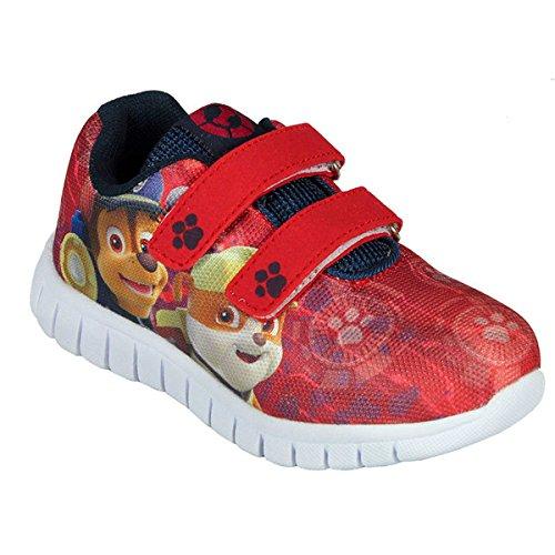 Paw Patrol , Jungen Sneaker Rot Full Print